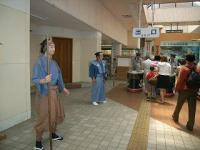 下田黒船祭 下田駅関守