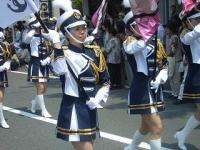 下田黒船祭 自衛隊バトンガール
